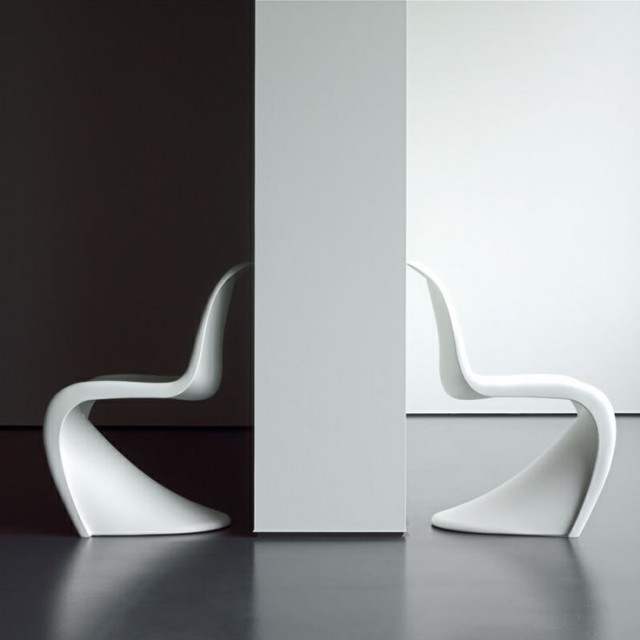 panton chair by vitra oldies but goldies adesignedblog. Black Bedroom Furniture Sets. Home Design Ideas