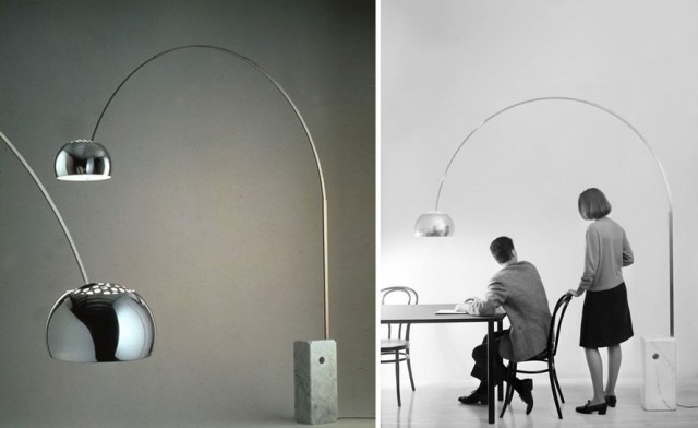 oldies but goldies arco di castiglioni per flos