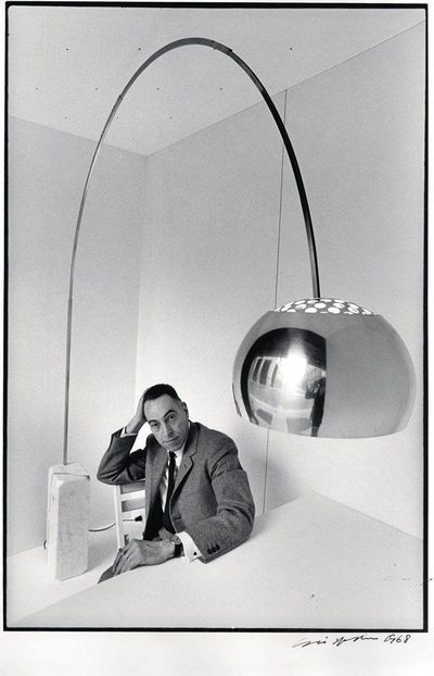 Oldies but Goldies. Arco di Castiglioni per Flos  ADesignED BlogADesignED Blog